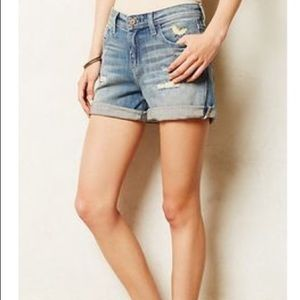 Pilcro and the Letterpress Stet Jean Shorts